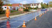 У США хочуть будувати автомобільні дороги з сонячних батарей