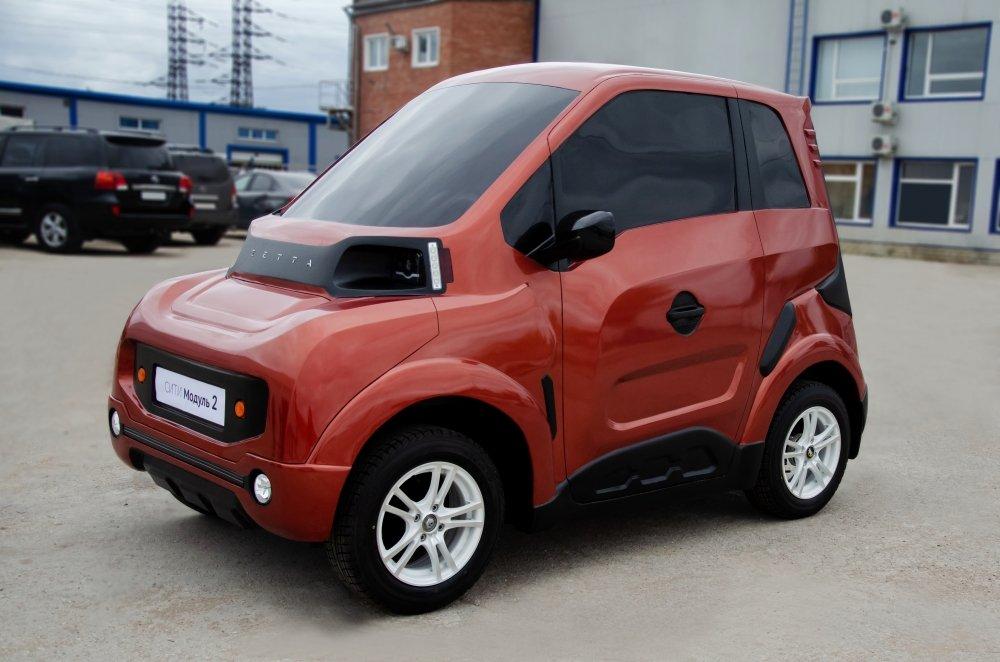Перший російський електромобіль Zetta з'явиться на початку 2020 року: ціна і подробиці